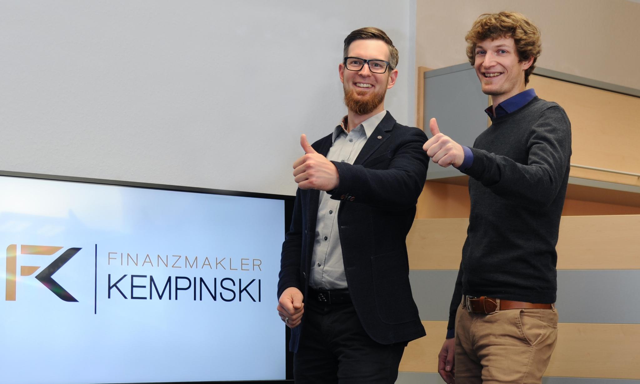 Benjamin Kempinski und Felix Kempinski