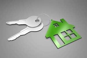 Hausschlüssel zum finanzierten Eigenheim